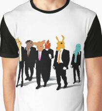Hotline Miami (Reservoir Dogs) Graphic T-Shirt