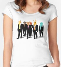 Hotline Miami (Reservoir Dogs) Women's Fitted Scoop T-Shirt