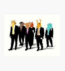 Hotline Miami (Reservoir Dogs) Art Print