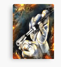 Le pinceau, featured in Vavoom  Canvas Print