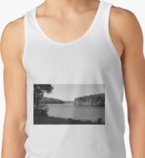 Black and White at the Lake Tank Top