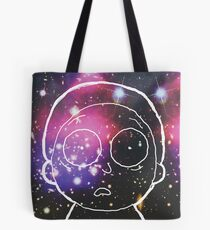 Space Morty Pillow Tote Bag
