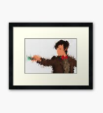 Eleventh Doctor - Doctor Who Framed Print