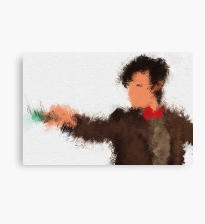 Eleventh Doctor - Doctor Who Canvas Print