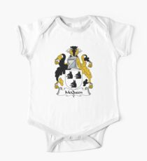 McQueen Coat of Arms/Family Crest One Piece - Short Sleeve