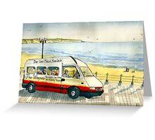 Paul's mini-bus Greeting Card