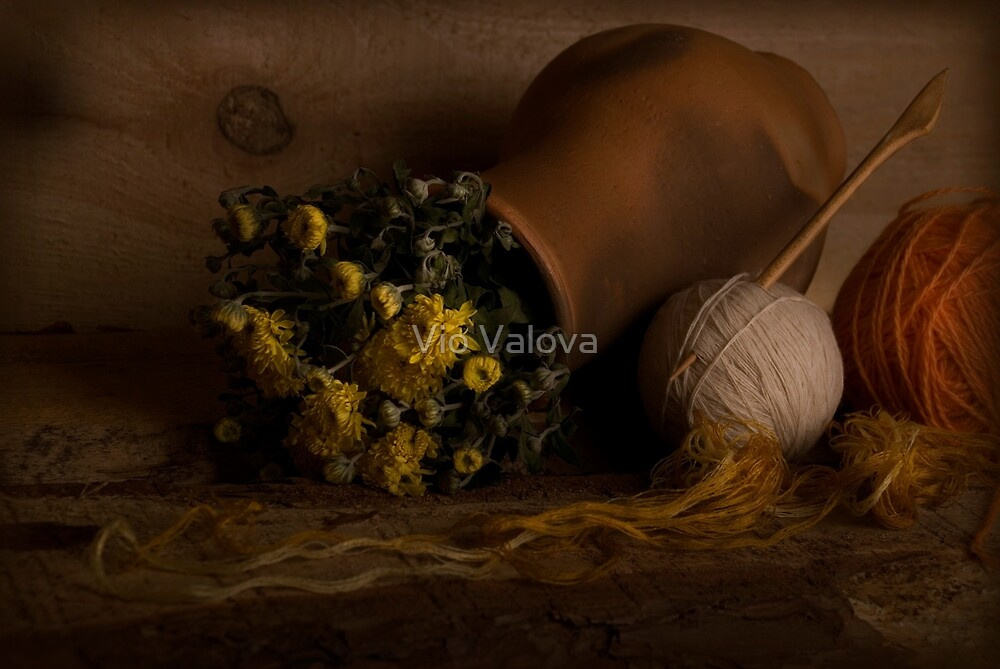 Autumn Flowers by VioDeSign