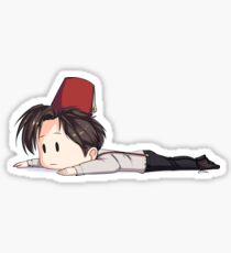 The 11th Doctor - Matt Smith Sticker