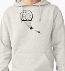 Brain Balloon - black detail Pullover Hoodie