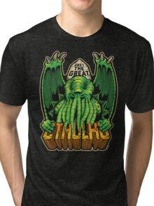 The Great Cthulhu Tri-blend T-Shirt