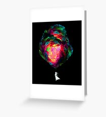 """""""Contra"""" Greeting Card"""
