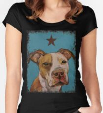 American Pit Bull Women's Fitted Scoop T-Shirt