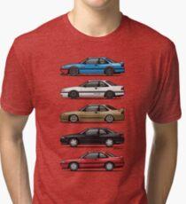 Stack of Mazda MX6s Tri-blend T-Shirt