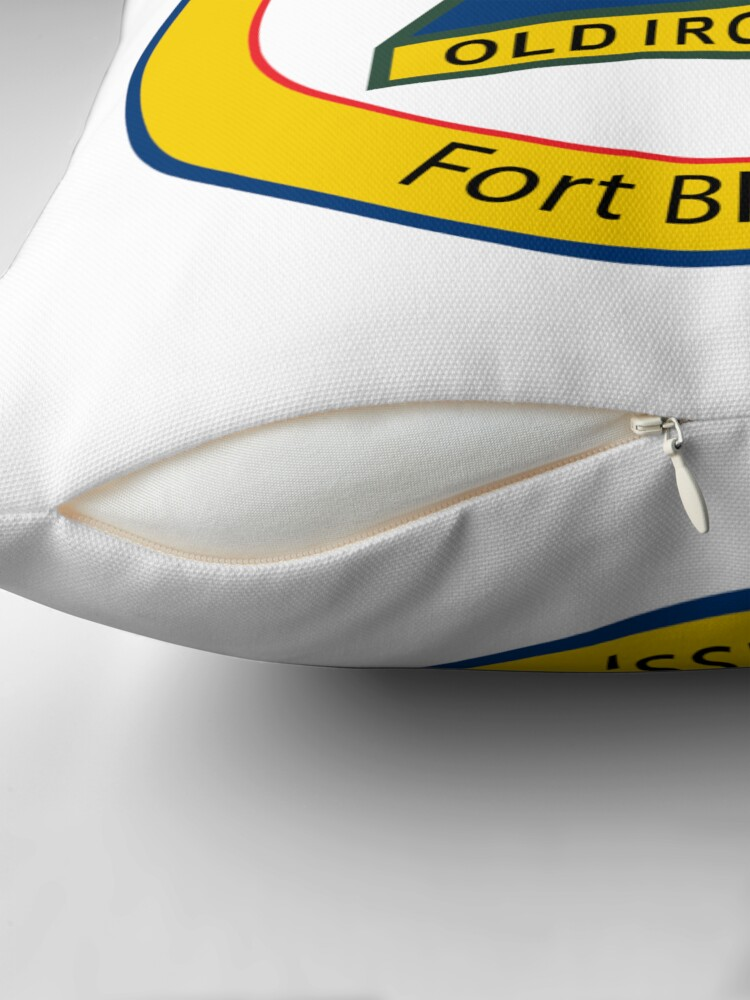 Alternate view of 1st Armored  Bliss Throw Pillow