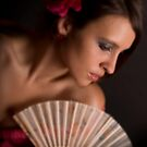 Rose & Fan by VioDeSign