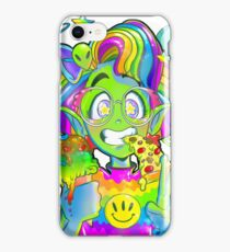 Rad 90s Space Girl! iPhone Case/Skin