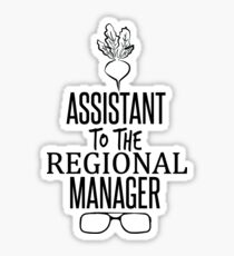 Dwight Schrute - Assistant to the Regional Manager Sticker