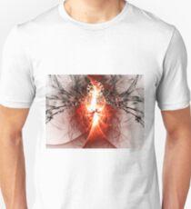 Black Widow - Abstract Fractal Artwork Unisex T-Shirt