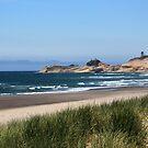 Pacific City Beach by Annie Underwood