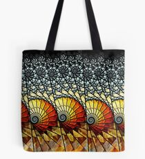 Billow - Abstract Fractal Artwork Tote Bag