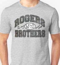 usa new york wood by rogers bros Unisex T-Shirt