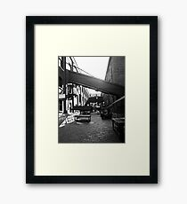 Distillery District Framed Print