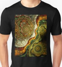 Autumn - Abstract Fractal Artwork Unisex T-Shirt