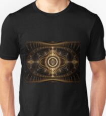 All Seeing Eye - Abstract Fractal Artwork Unisex T-Shirt