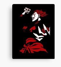 Hunter x Hunter Hisoka Canvas Print