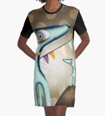 Into the Wild Graphic T-Shirt Dress