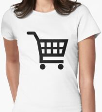 Shopping cart Women's Fitted T-Shirt