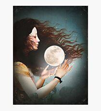 Lámina fotográfica Cumplir con la Luna