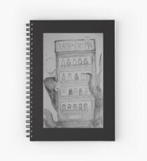 death by caffeine Spiral Notebook