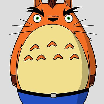 Crash Totoro by Ednathum