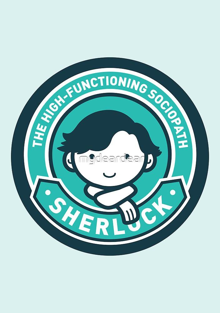 Cute Sherlock Holmes in Blue by mydeardear