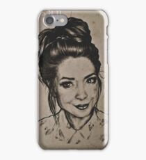 Zoella portrait iPhone Case/Skin