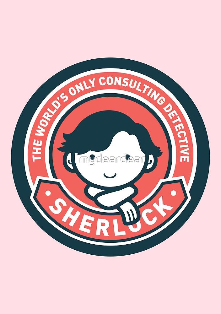 Cute Sherlock Holmes in Red by mydeardear
