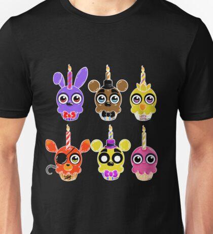 FNAF Cupcakes (6) Unisex T-Shirt