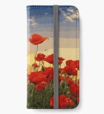 Poppies iPhone Wallet/Case/Skin