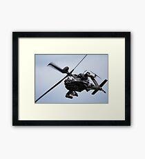 Apache Longbow Framed Print