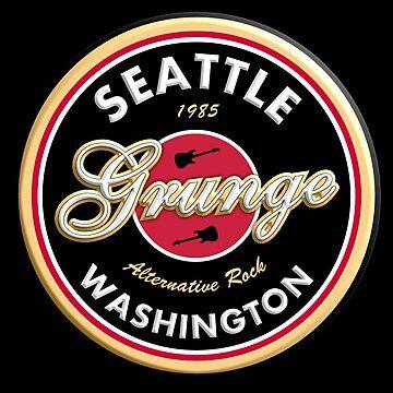 Grunge Seattle Washington by siban