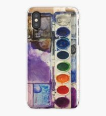 water color pallet  iPhone Case