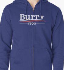 Sudadera con capucha y cremallera ALEXANDER HAMILTON AARON BURR 1800 Burr Election of 1800