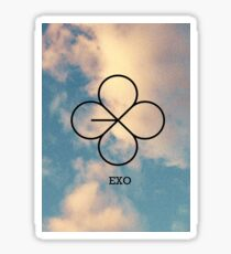 Lucky One Sky - EXO Sticker