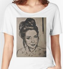 Zoella portrait Women's Relaxed Fit T-Shirt