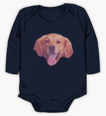 Vintage Doggy One Piece - Long Sleeve