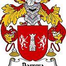 Barrera Coat of Arms/ Barrera Family Crest by William Martin