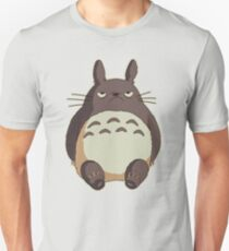 Mürrischer Totoro Slim Fit T-Shirt