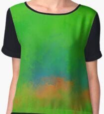 Jelesinia V1 - digital abstract Chiffon Top