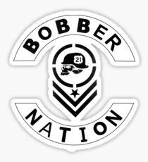 Bobber Nation 21 Sticker